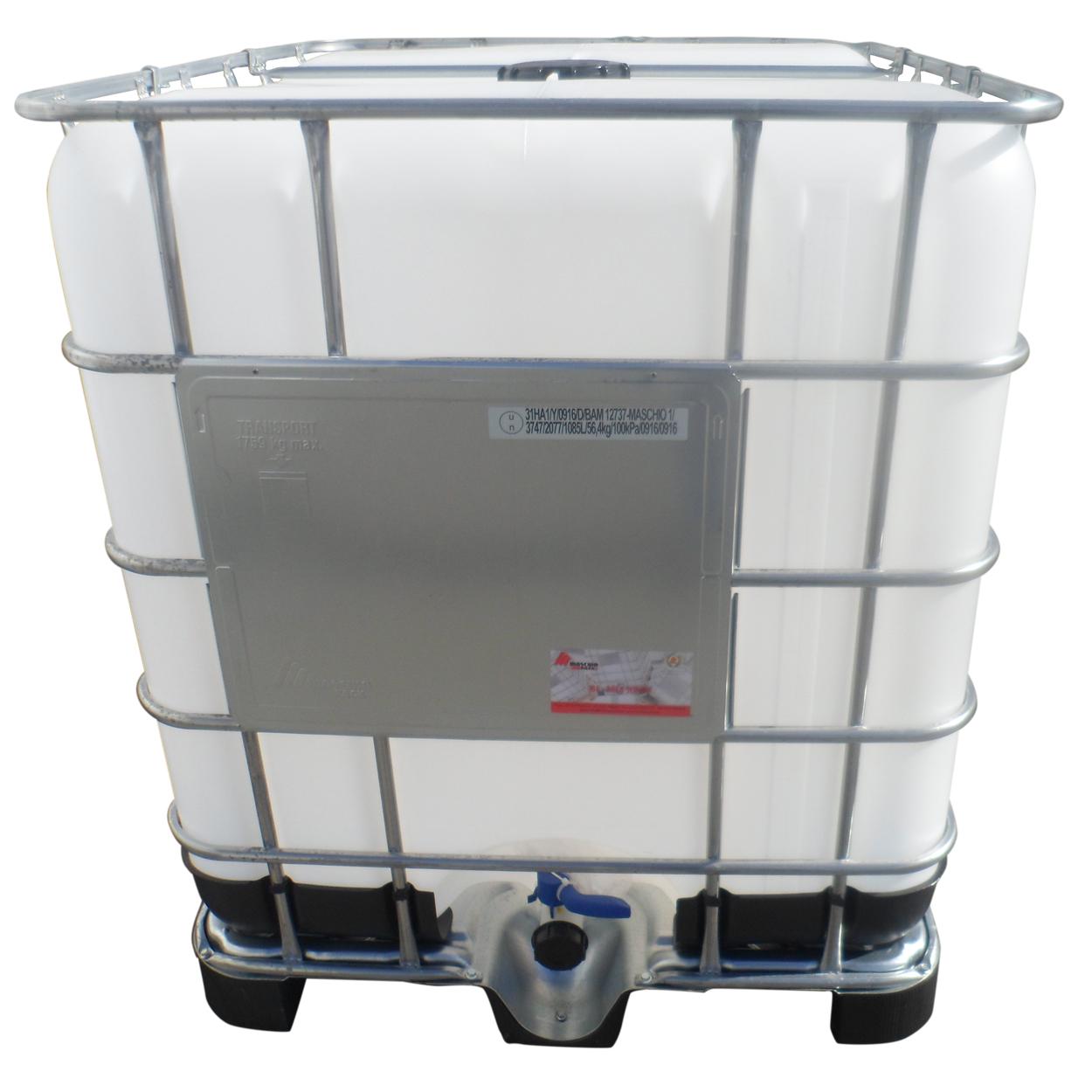 Nový IBC kontejner 1000 l, plastová paleta