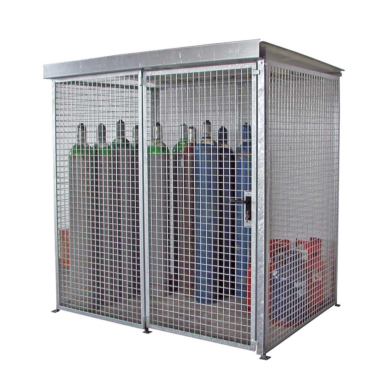 Klec pro skladování tlakových lahví