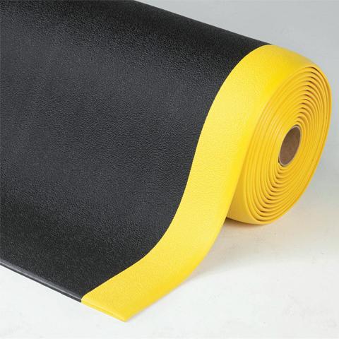 Protiúnavová pěnová rohož, mírně profilovaný povrch