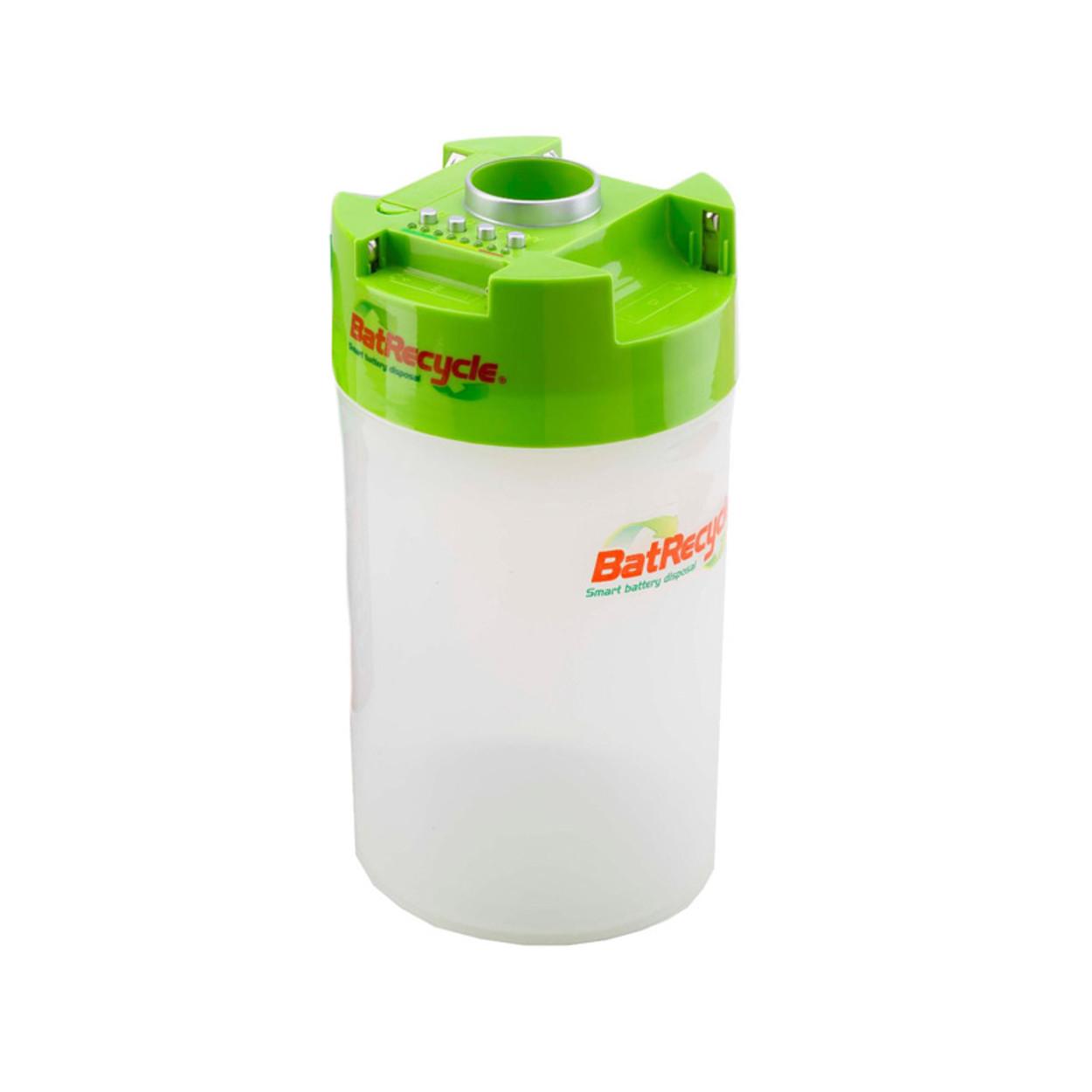 Plastový koš na použité baterie, 1,85 l
