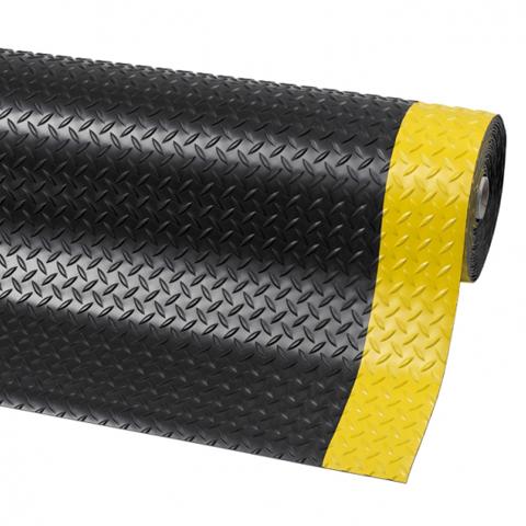Průmyslová ochranná rohož v roli, 4,7 mm, kotlářský plech