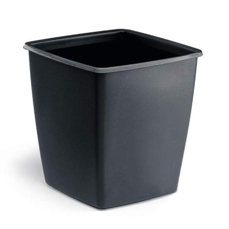Čtvercový plastový odpadkový koš