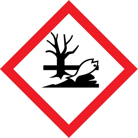 Značka GHS09 Látky nebezpečné pro život. prostředí