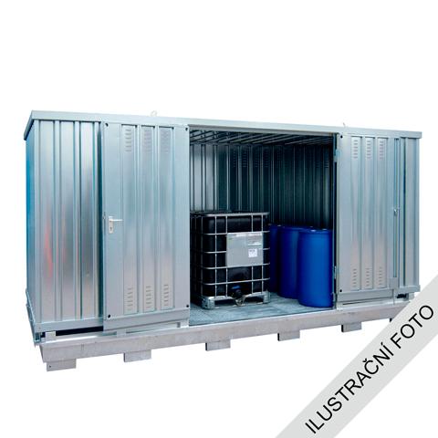 Ekosklad se samovolnou ventilací, 4×3