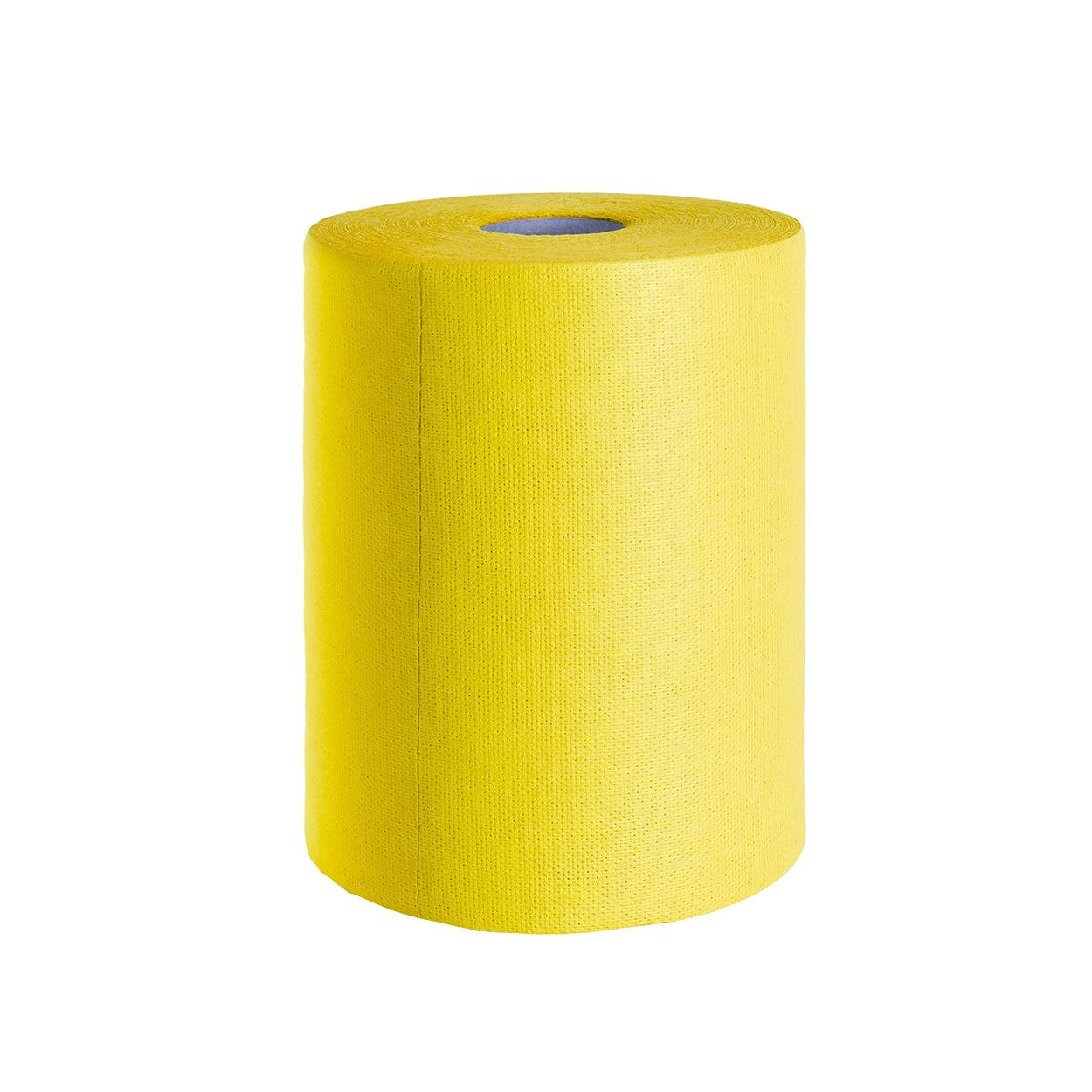 Barevná utěrka pro hrubé čištění - žlutá
