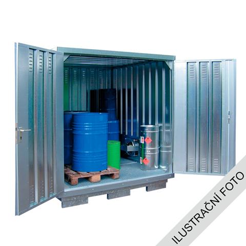 Ekosklad nebezpečných látek s nucenou ventilací, 5×2