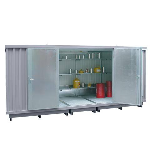 Ekosklad s termoizolací a topením, 5×2