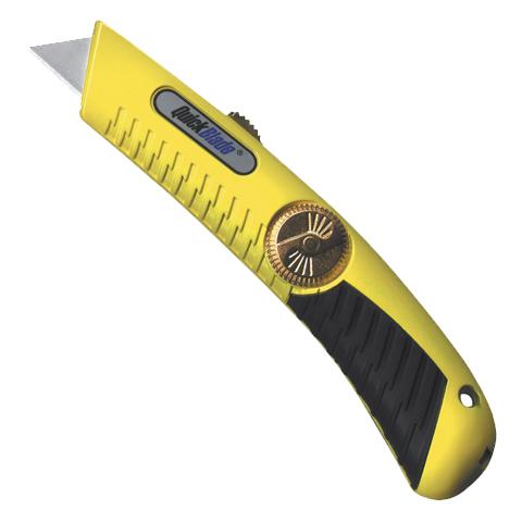 Pracovní nůž s výsuvnou polohovatelnou čepelí