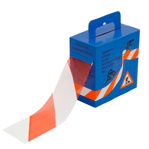 Výstražná ohraničovací páska ve výdejním boxu, 200 m