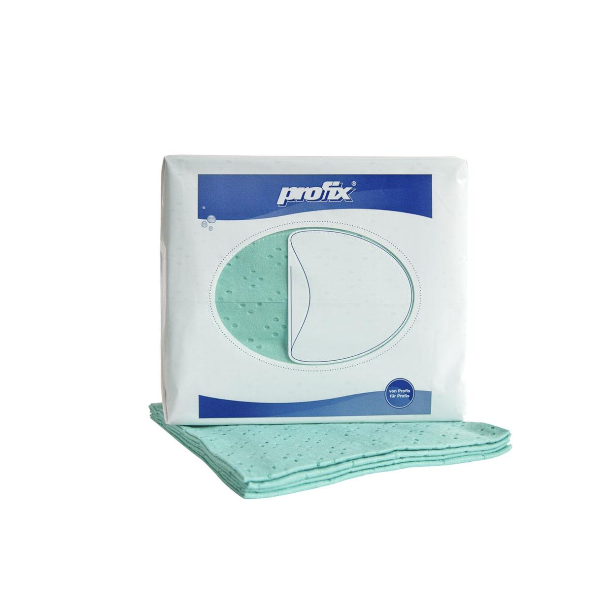 Průmyslová textilní utěrka pro jemné čištění - zelená