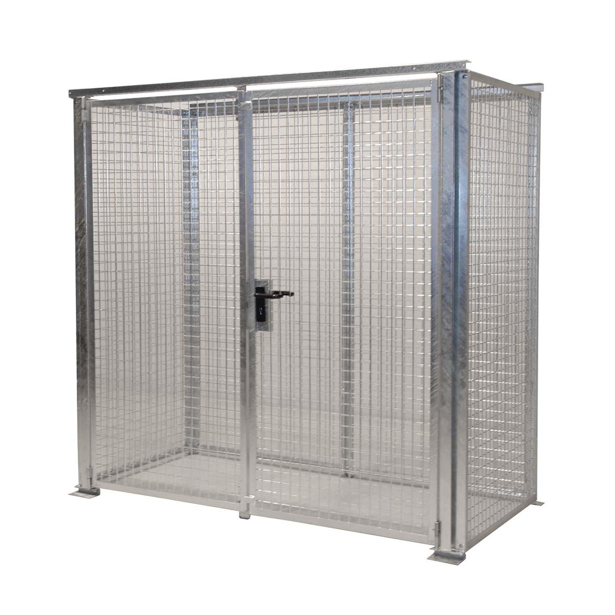 Klec pro skladování tlakových lahví bez podlahy a střechy, 2