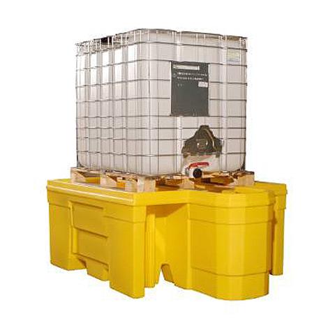 Záchytná vana bez roštu pod IBC kontejner