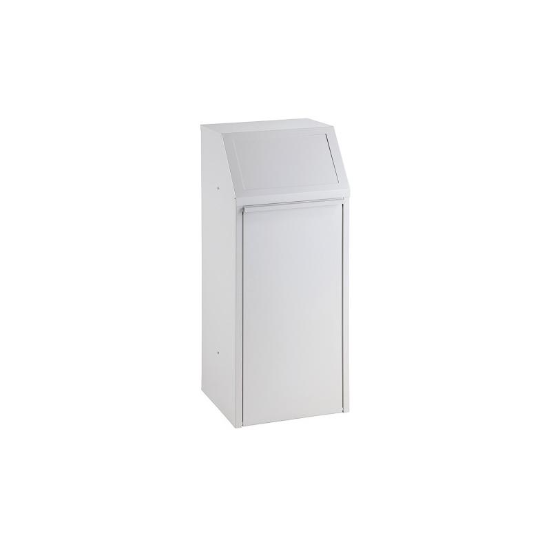 Kovový výklopný koš 70 l, šedý