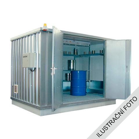 Ekosklad s termoizolací a topením, 2×1
