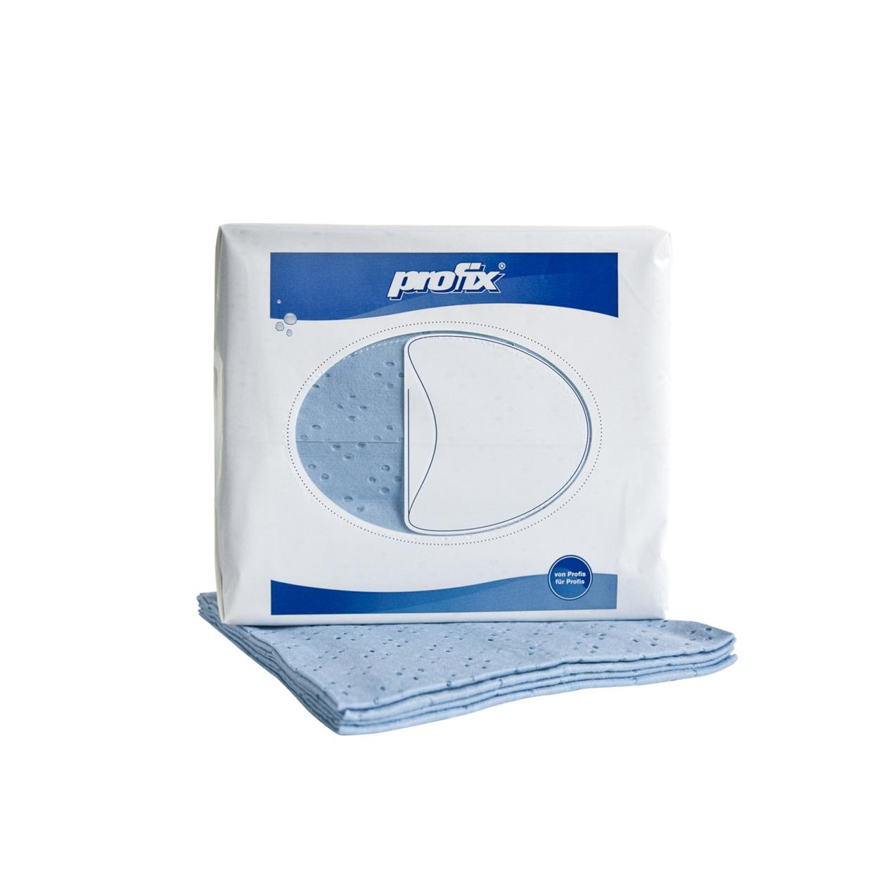 Barevná utěrka pro jemné čištění - modrá