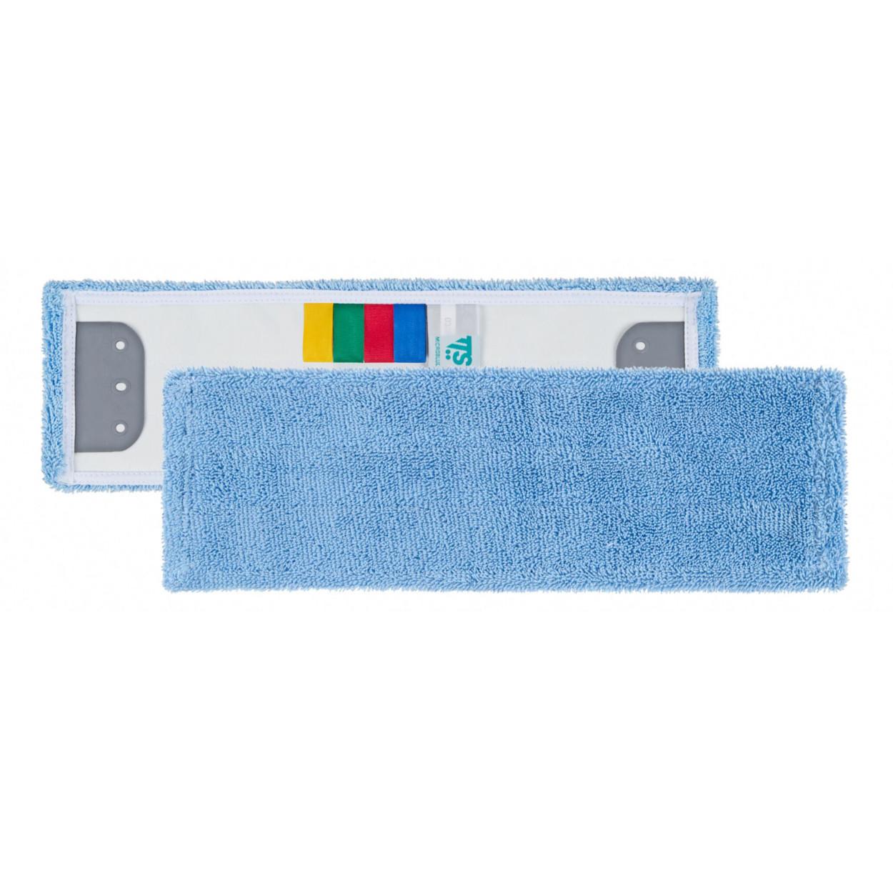 Mikrovláknový plochý mop, modrý