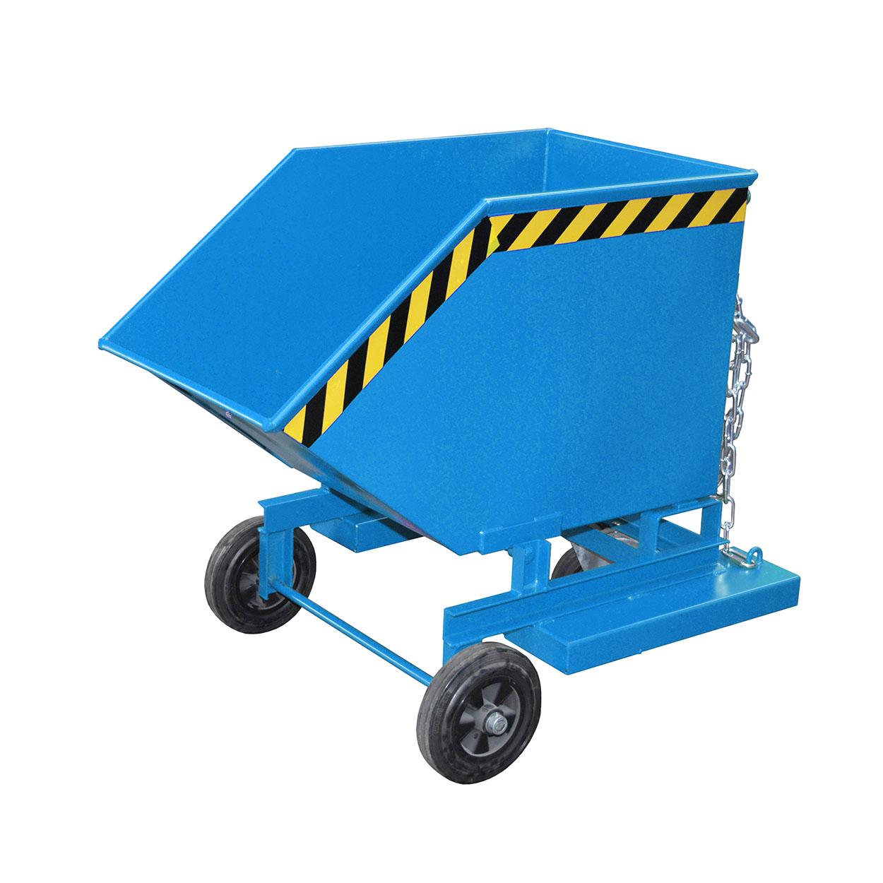 Výklopný vozík s víkem