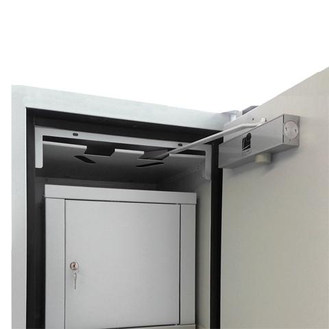 Uzamykatelný box do protipožární skříně - jednokřídlé dveře