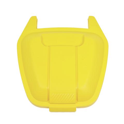 Víko k mobilní nádobě, žluté