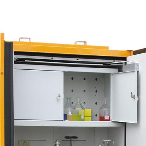 Uzamykatelný box do protipožární skříně - dvoukřídlé dveře