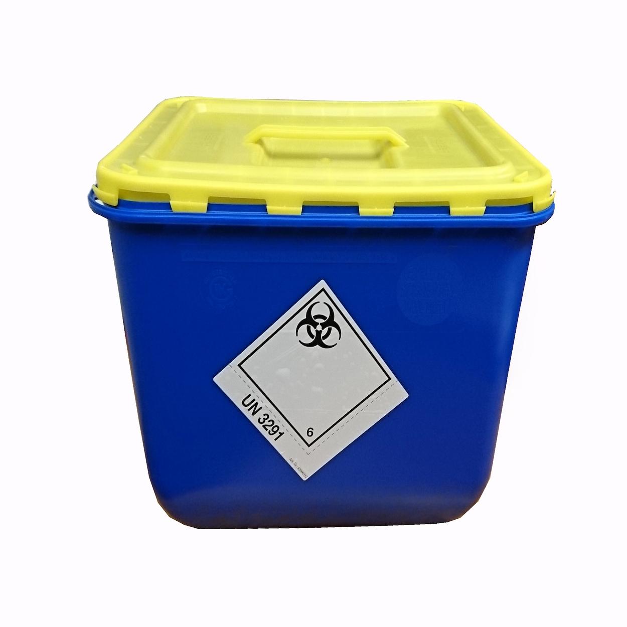Box s víkem s úchopem na sběr biologického odpadu - 30 l