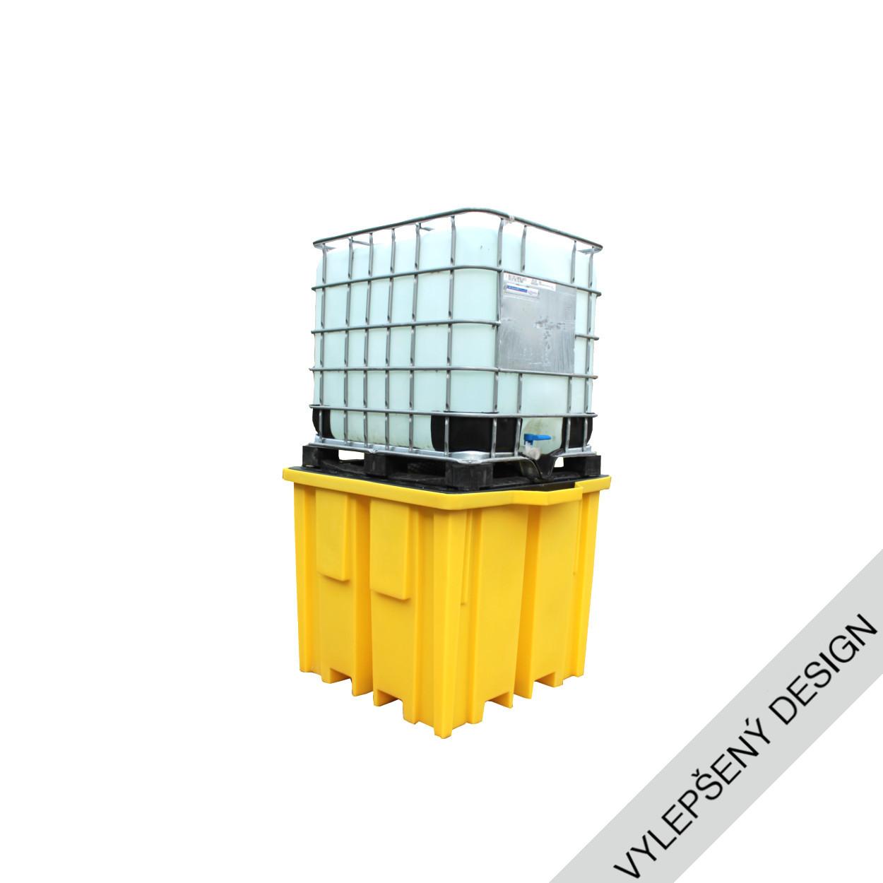 Záchytná vana s roštem pod IBC kontejner