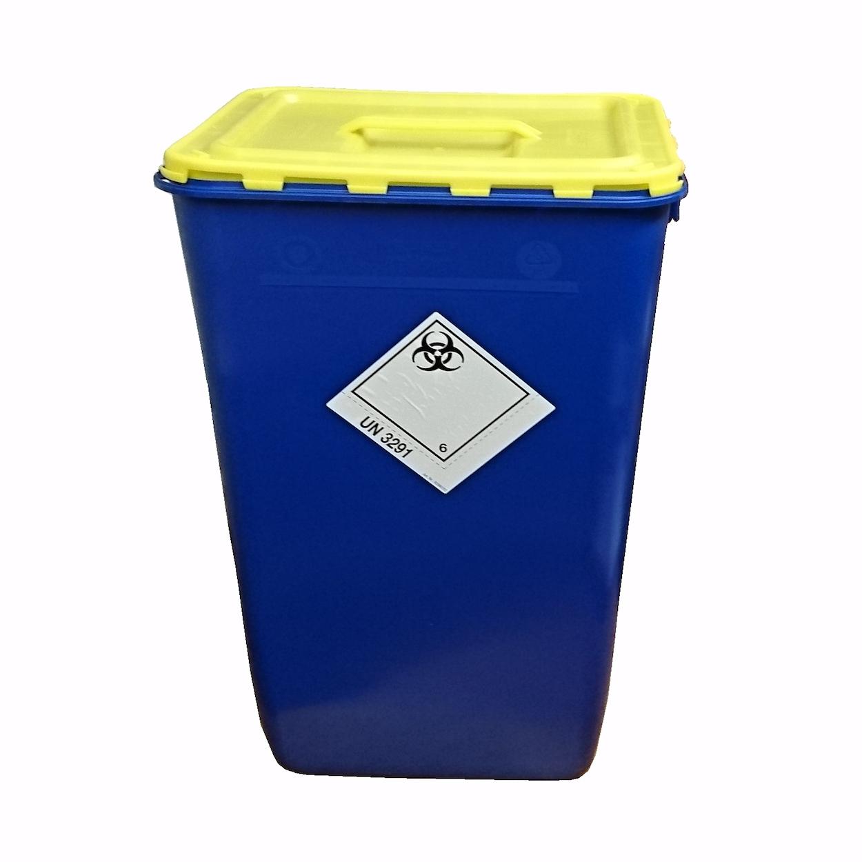 Nádoba na biologický odpad s víkem s úchopem, 60 l