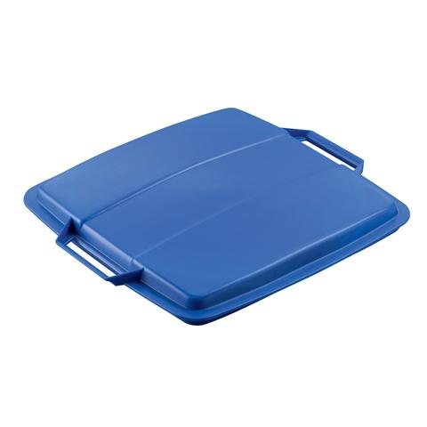 Víko k nádobě na odpad, modré
