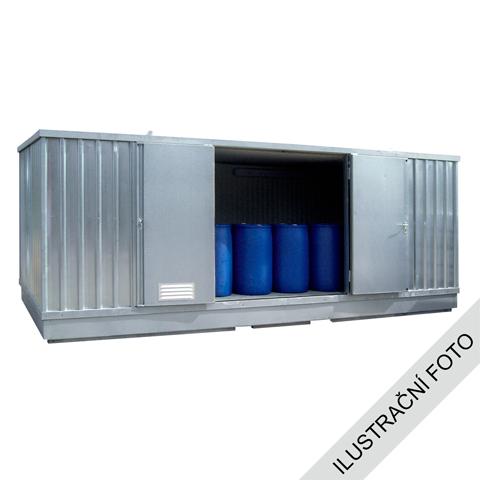 Ekosklad s termoizolací a topením, 4×3