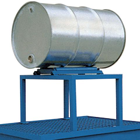 Ocelový stojan pro jeden 200 l sud