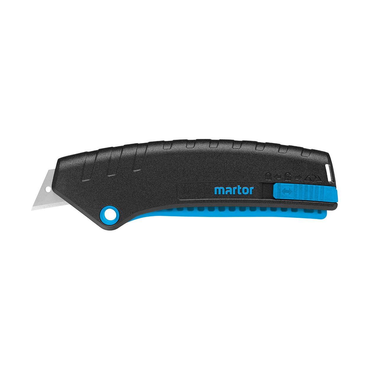 SECUNORM MIZAR - Lehký bezpečnostní nůž s páčkovým mechanism