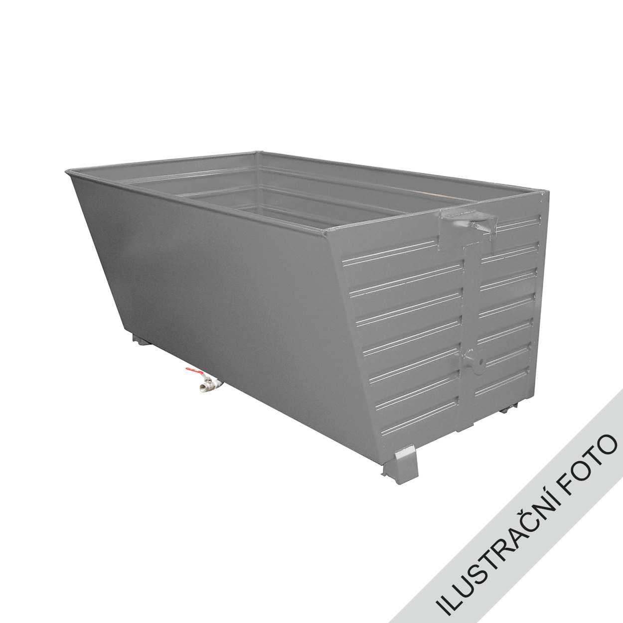Stohovatelný kontejner TRV s výpustí