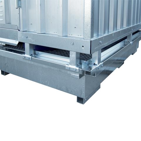 Ekosklad se samovolnou ventilací, 2×1