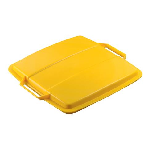 Víko k nádobě na odpad, žluté