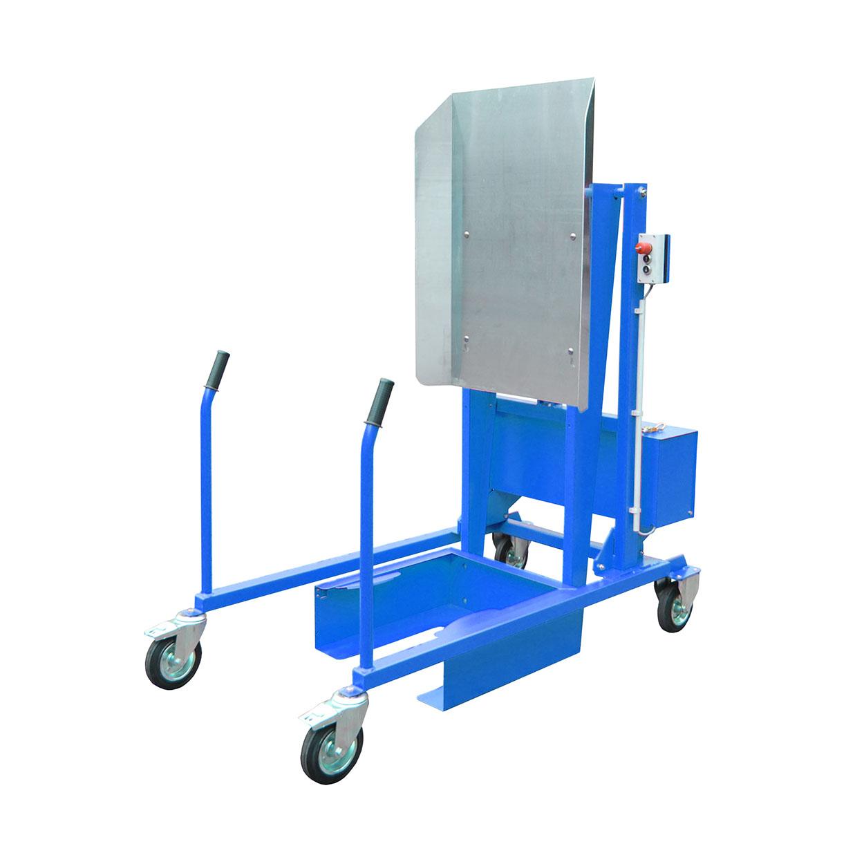 Pojízdný vyklápěč popelnic elektricko-hydraulický, 12 V