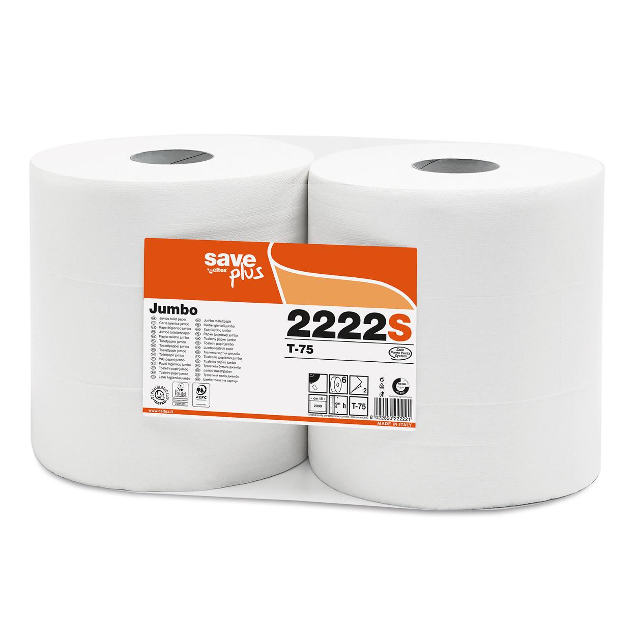 Toaletní papír Jumbo MAXI Plus