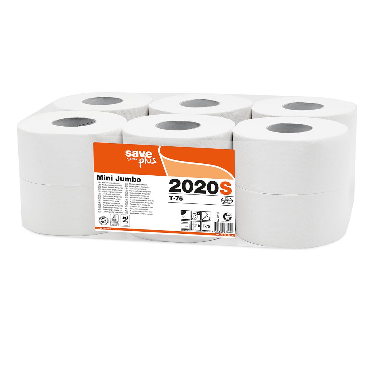 Toaletní papír Jumbo MINI Plus