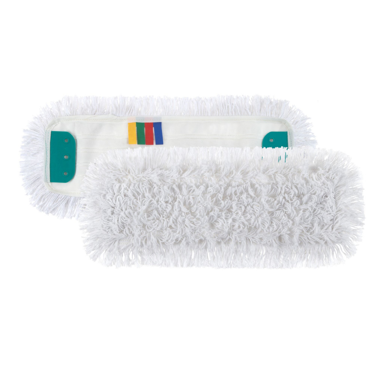 Polyesterový plochý mop, bílý