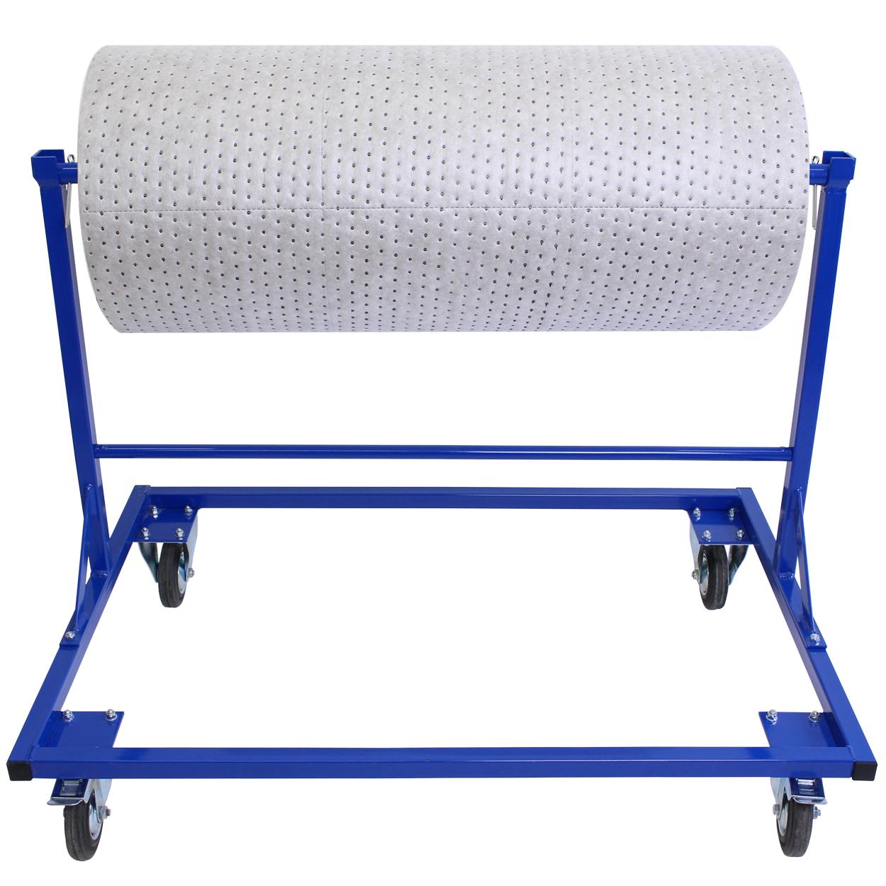 Výdejní stojan na textilní sorbent