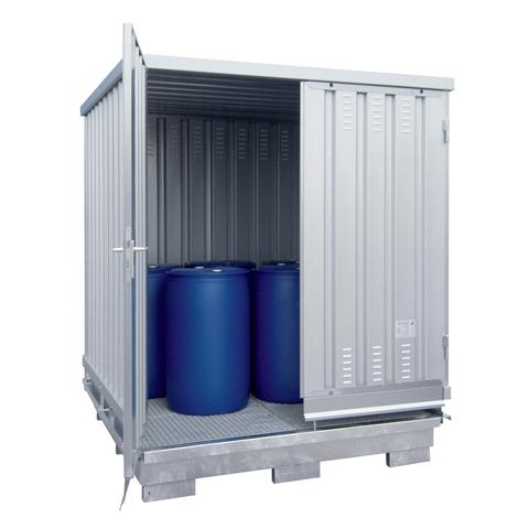 Ekosklad se samovolnou ventilací, 2×2