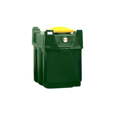 Dvouplášťová nádrž na použitý olej