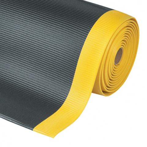 Protiúnavová rohož s příčnými drážkami, metráž, 60 cm