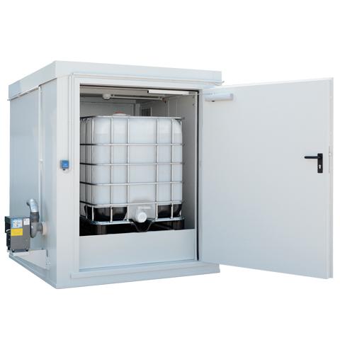 Protipožární kontejner - odolnost 90 minut