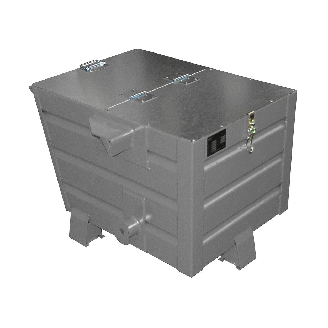 Výklopný kontejner TRV s víkem