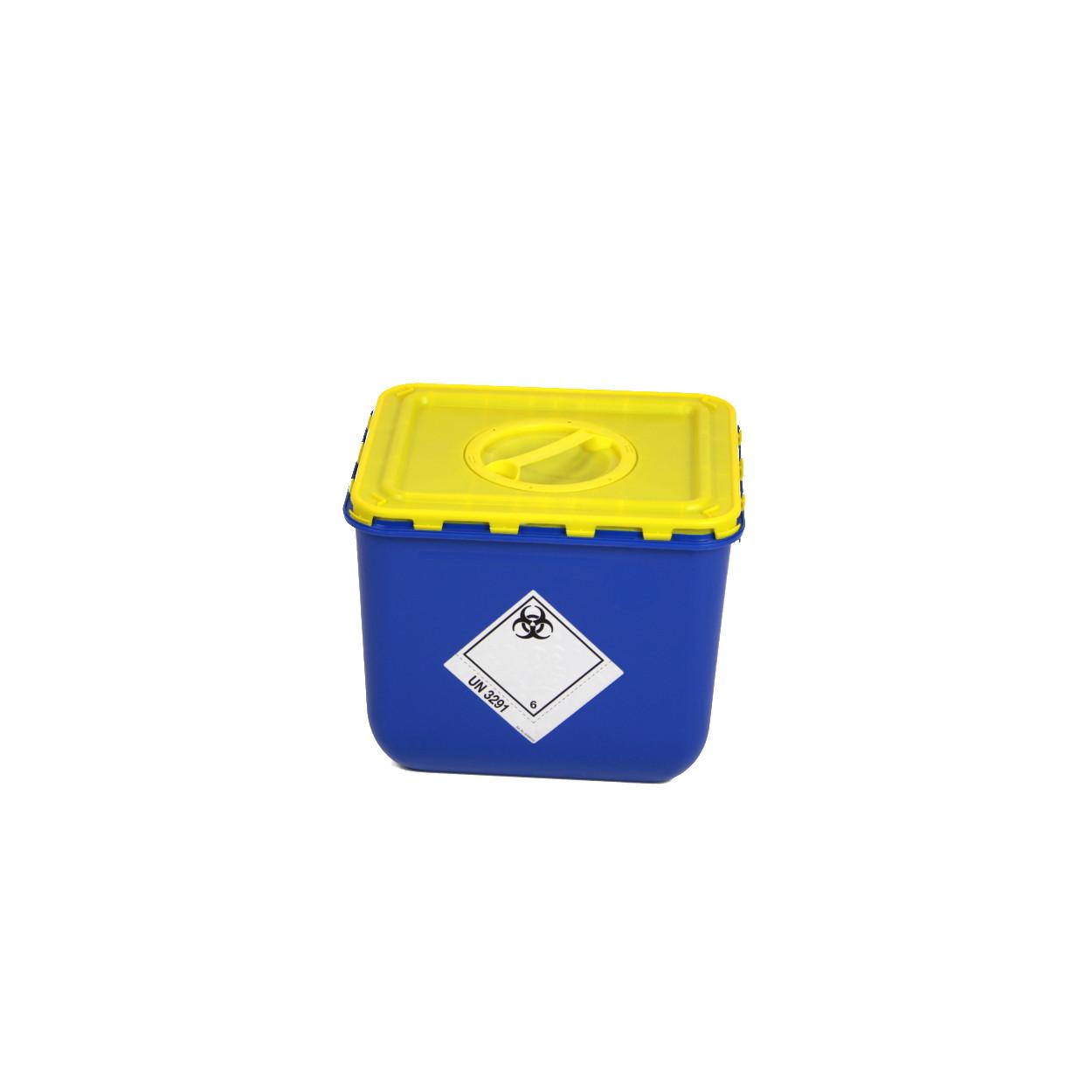 Box s víkem s otvorem na sběr biologického odpadu - 30 l