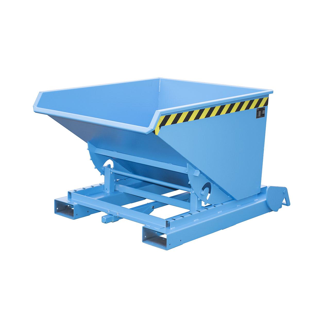 Automatický výklopný kontejner s rolovacím mechanismem