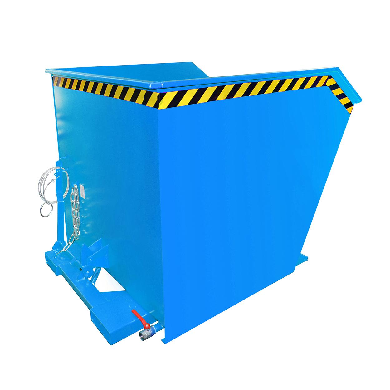Výklopný kontejner s výpustí