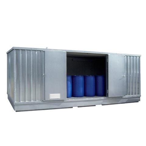 Ekosklad s termoizolací a topením, 6×3