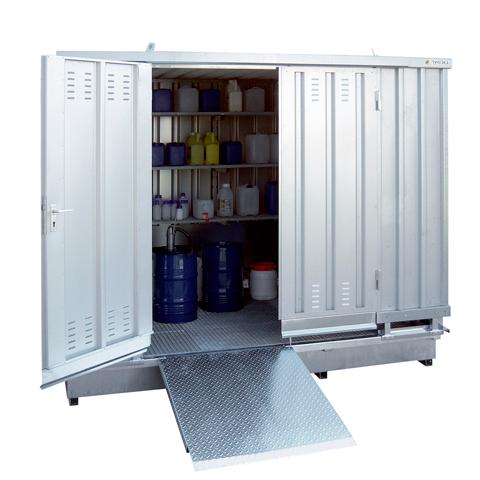 Ekosklad se samovolnou ventilací, 3×2