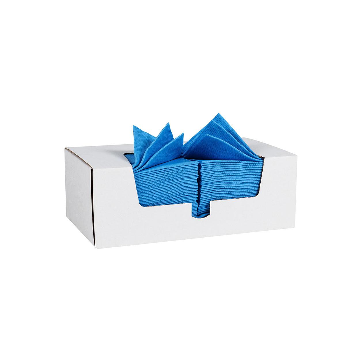 Barevná utěrka pro hrubé čištění - modrá
